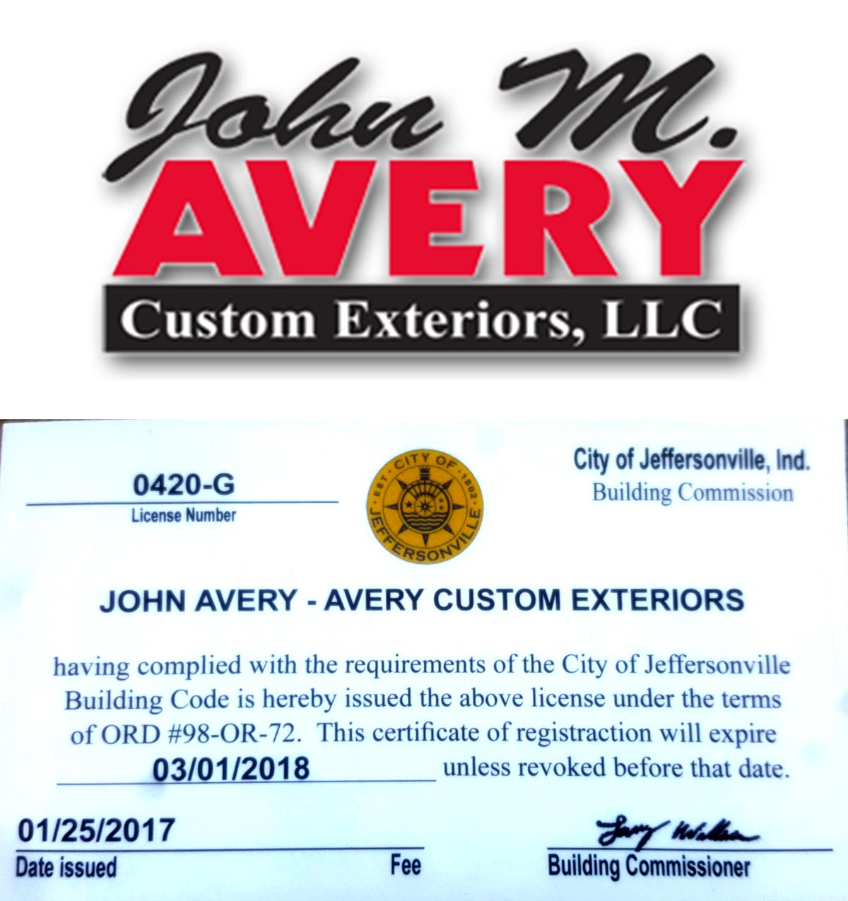 John-Avery-Custom-exteriors-License